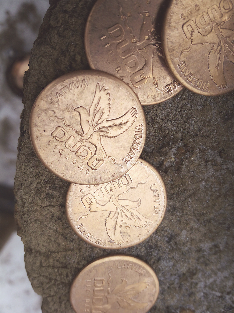 DUDU Чеканка монет