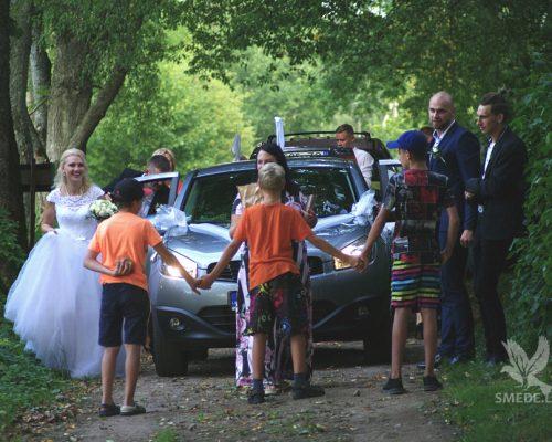 Kalējs kāzās, precības pie kalēja